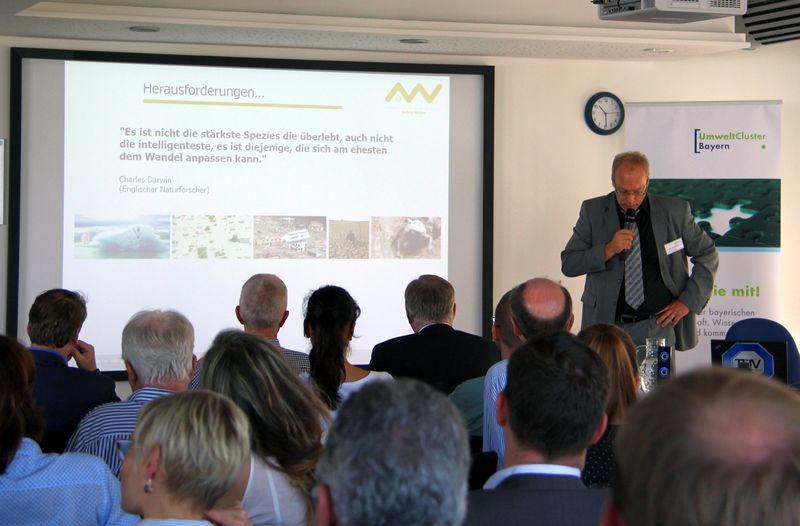 Prof Dr Franz Bischof Bayerische Clustertage In München