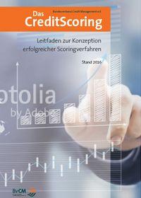 """Titelseite der Studie """"Das Credit Scoring – Leitfaden zur Konzeption erfolgreicher Scoring-Verfahren"""""""