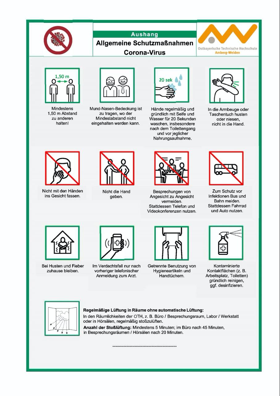Schutzmaßnahmen